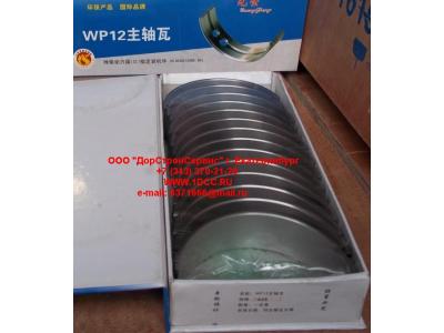 Вкладыши коренные WP12 (комплект) -0,03 SH SHAANXI / Shacman (ШАНКСИ / Шакман) 612630010088/89 -0.03 фото 1 Бийск