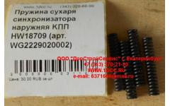 Пружина сухаря синхронизатора наружняя KПП HW18709 фото Бийск