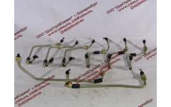 Трубки высокого давления, комплект на ДВС 8шт WP12