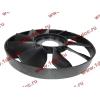 Вентилятор радиатора на гидромуфту d-590 H HOWO (ХОВО) VG1500060047 фото 3 Бийск