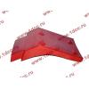 Брызговик передней оси правый H2 красный HOWO (ХОВО) WG1642230004 фото 3 Бийск