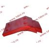 Брызговик передней оси правый H2 красный HOWO (ХОВО) WG1642230004 фото 4 Бийск